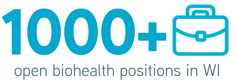 1000+ open biohealth positions in WI